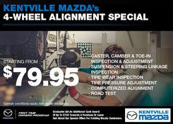 Mazda - Kentville Mazda's 4-Wheel Alignment Special