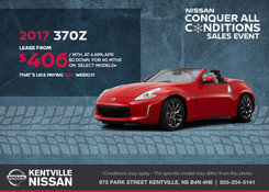 Nissan - Save Big on the 2017 Nissan 370Z Today!