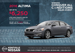 Nissan - Save on the 2016 Nissan Altima Today!
