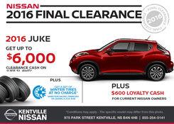 Nissan - Save on a 2016 Nissan Juke Today!