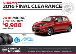 Nissan - Get the 2016 Nissan Micra Today!