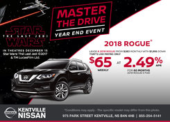 Nissan - Save on the 2018 Nissan Rogue