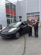 Une voiture électrique pour ses 73 ans