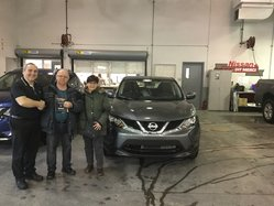 Nissan Qashqai S Gris 2017