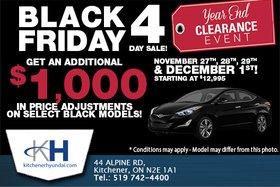 Black Friday Sales Event!