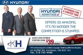 It's the Hyundai Advantage Event!