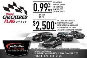 Honda's May Sales Event!