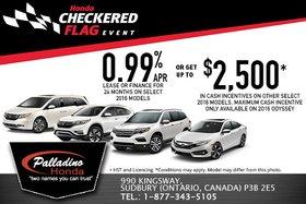 Honda's June Sales Event!
