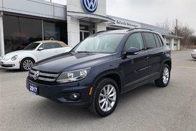 2017 Volkswagen Tiguan Wolfsburg Edition Wolfsburg Edition 2.0T 6sp at w/Tip 4M