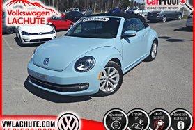 Volkswagen Beetle Convertible COMFORTLINE + GPS + !! 42, 777 KM !! + 1 PROPRIO + 2015