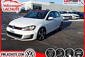 Volkswagen GTI AUTOBAHN + FENDER + GPS + TOIT + MAGS 18 PO. + 2016