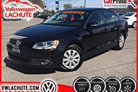Volkswagen Jetta TRENDLINE ++ AIR + AUCUN CARPROOF + ACHETÉ ICI + 2014