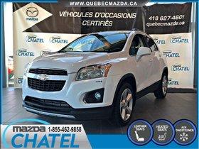 Chevrolet Trax LTZ AWD - CUIR - SIEGES CHAUFFANTS 2015 **NOUVEL ARRIVAGE**