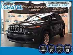 Jeep Cherokee NORTH - V6 - 4X4 - CAMÉRA 2016 **GARANTIE COMPLETE JEEP JUSQU'EN JUIN 2019**