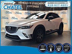 Mazda CX-3 GT TECH AWD - CUIR - TOIT OUVRANT- CAMÉRA 2016
