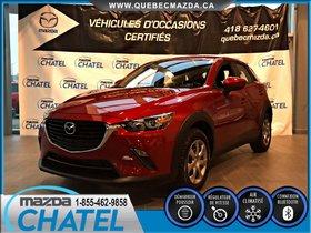 Mazda CX-3 GX - AUTO - CAMÉRA DE RECUL - BLUETOOTH 2017 ** GARANTIE COMPLETE KM ILLIMITÉ **