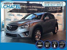 Mazda CX-5 GT AWD - CUIR - TOIT OUVRANT - SIEGES CHAUFFANTS 2015 ** 1 SEUL PROPRIO - NON-FUMEUR **