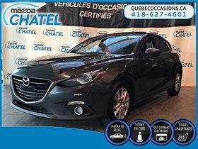 Mazda Mazda3 Sport GT - CUIR - TOIT OUVRANT - SIEGES CHAUFFANTS 2015 **GARANTIE PROLONGÉE MAZDA JUSQU'EN MAI 2019 / KM ILLIMITÉ**