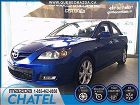 Mazda Mazda3 GT 2007 **MANUELLE-A/C-SIÈGES CHAUFFANTS**