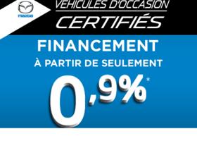 Mazda Mazda3 GX (AUTO A/C À PARTIR DE 0.9%) 2012 VÉHICULE CERTIFIÉ MAZDA