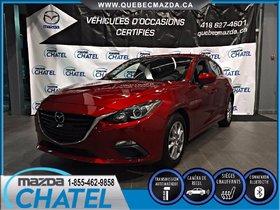 Mazda Mazda3 GS-SKY 2014 **GARANTIE PROLONGÉE MAZDA INCLUSE**