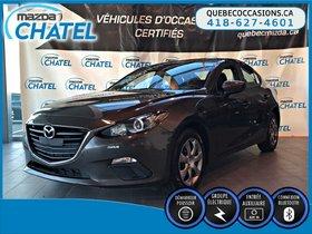 Mazda Mazda3 GX - MANUELLE - BLUETOOTH 2015