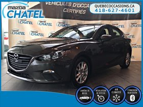 Mazda Mazda3 GS - CAMÉRA - CRUISE - BLUETOOTH 2015