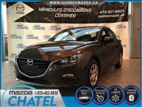 Mazda Mazda3 GX - BLUETOOTH, CAMÉRA DE RECUL, GARANTIE COMPLETE 2016