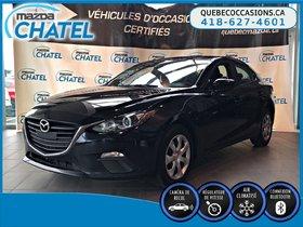 Mazda Mazda3 GX - AUTOMATIQUE - CAMÉRA - CRUISE 2016 **GARANTIE COMPLETE MAZDA JUSQU'EN 2020**