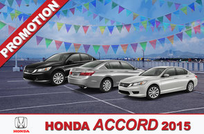 Promotion Accord 2015