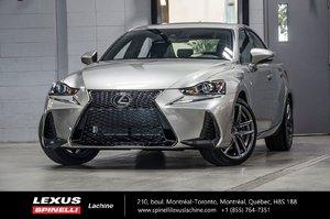 Lexus IS 300 F SPORT I AWD; CUIR TOIT CAMERA ANGLES MORTS LSS+ 2019