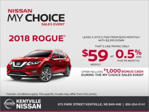 Nissan - 2018 Nissan Rogue