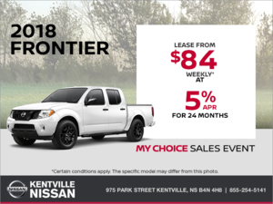 Nissan - Get the 2018 Nissan Frontier Today!