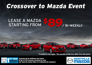 The Crossover to Mazda Sales Event!