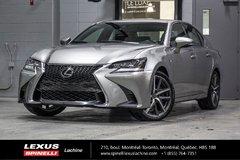 2016 Lexus GS 350 F SPORT II AWD; CUIR TOIT GPS AUDIO LSS+