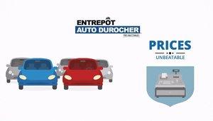 Pourquoi Entrepôt Auto Durocher ?