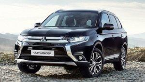 Place à la version de production du Mitsubishi Outlander PHEV 2017