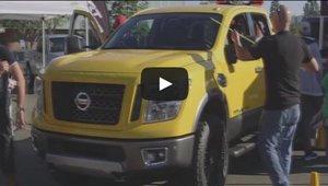 Le nouveau Nissan Titan montré au public