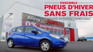 Alma Nissan -  Maîtrisez toutes les conditions, pneus d'hiver gratuits!