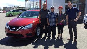 Gérard Lachance, Fidèle client Nissan !