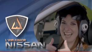 Toujours plus haut avec l'ami Junior Nissan!