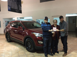 Premier client à vie!!!! de Hyundai Trois-Rivières à Trois-Rivières