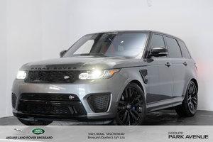Land Rover Range Rover Sport 5.0L V8 Supercharged SVR 2017