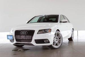 2012 Audi A4 2.0T Prem Tiptronic qtro Sdn