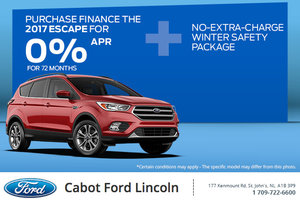 Get the 2017 Ford Escape Today!