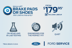 Brake pads or shoes