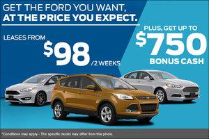 Come Take Advantage of Ford's Sales Event