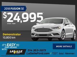 2018 Fusion SE