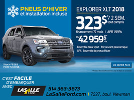 Explorer XLT 2018