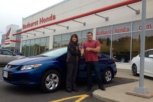 Notre expérience chez Bathurst Honda a été super!  Julie et Matthew Morton